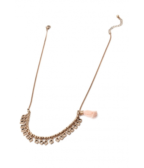 Imbracaminte Femei Forever21 Tasseled Charm Necklace Anticgblush
