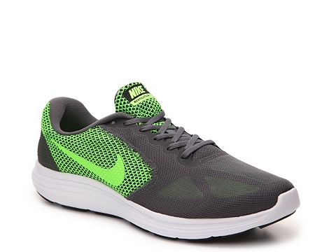 Incaltaminte Barbati Nike Revolution 3 Lightweight Running Shoe - Mens Green