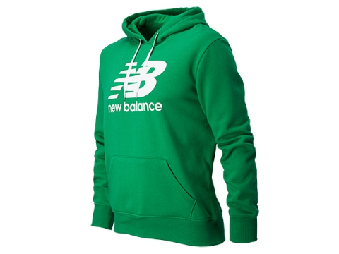 Imbracaminte Barbati New Balance Mens Essentials Pull Over Hoodie Grass Green
