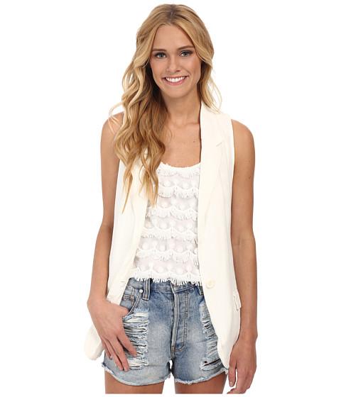 Imbracaminte Femei BB Dakota Emlyn Vest White Sand