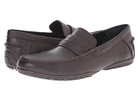 Incaltaminte Barbati Calvin Klein Walden Dark Brown Leather