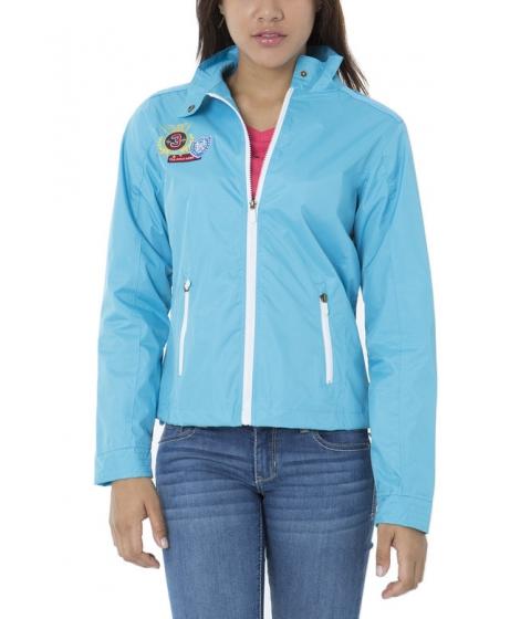 Imbracaminte Femei US Polo Assn MULTI PATCH JACKET Surf Blue