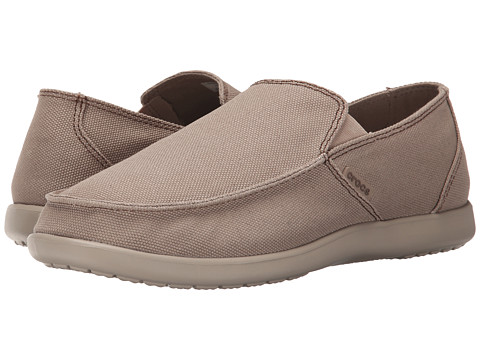 Incaltaminte Barbati Crocs Santa Cruz Clean Cut Loafer KhakiCobblestone