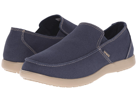 Incaltaminte Barbati Crocs Santa Cruz Clean Cut Loafer NavyTumbleweed