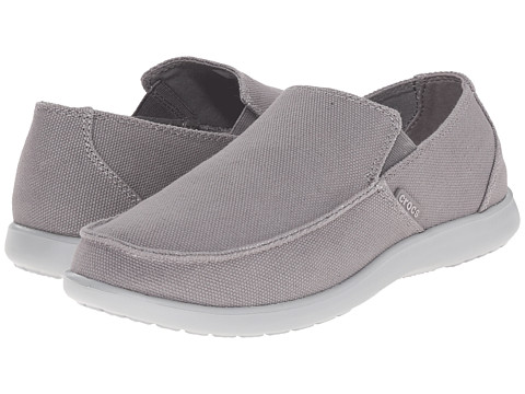 Incaltaminte Barbati Crocs Santa Cruz Clean Cut Loafer SmokeLight Grey