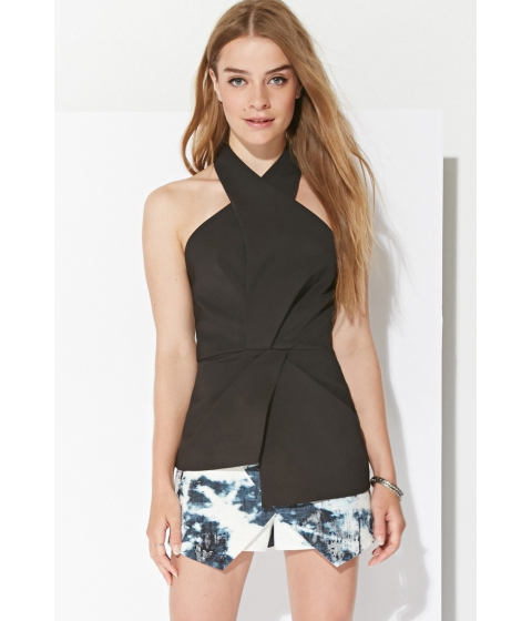 Imbracaminte Femei Forever21 Ministry of Style Halter Top Black