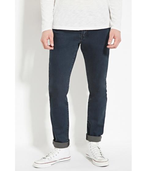 Imbracaminte Barbati Forever21 Slim Fit Jeans Medium denim
