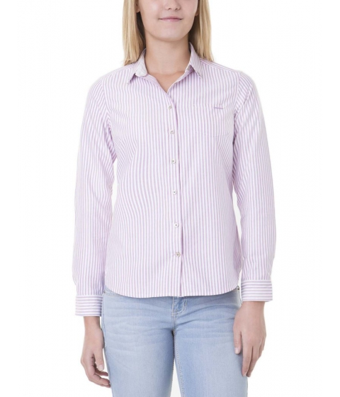 Imbracaminte Femei US Polo Assn Oxford Stripe Jewelled Collar LAVENDER HERB