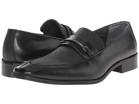 Incaltaminte Barbati Calvin Klein Gallard Black Textured Leather