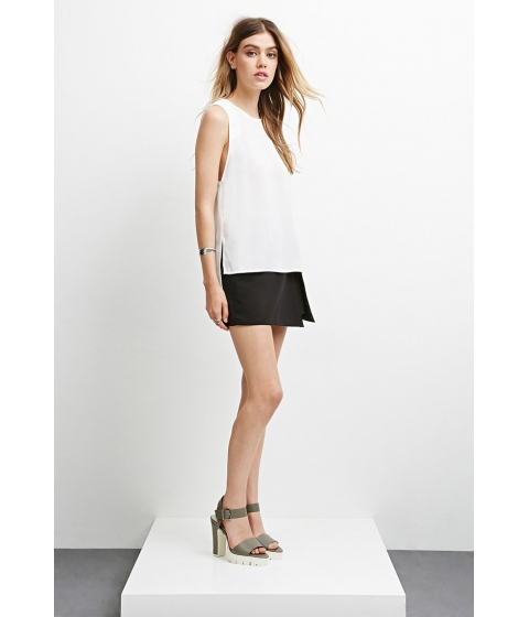 Imbracaminte Femei Forever21 The Fifth Label The Illusion Top Ivory