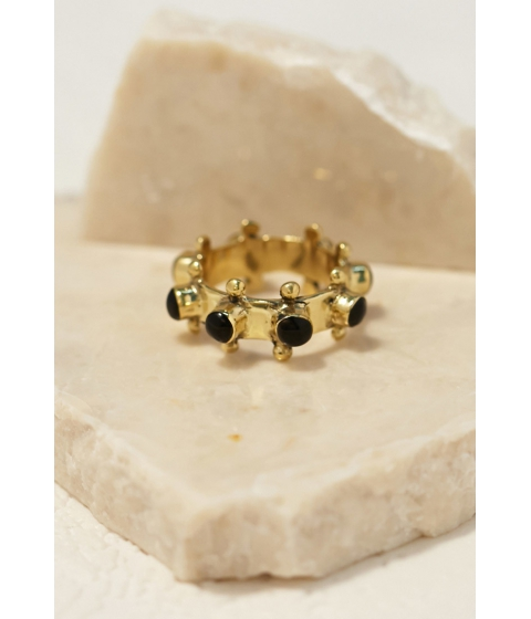 Imbracaminte Femei Forever21 Emerald Duv Indica Ring Goldblack