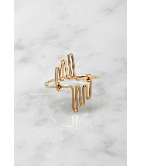 Imbracaminte Femei Forever21 by boe Multi Linear Ring Gold