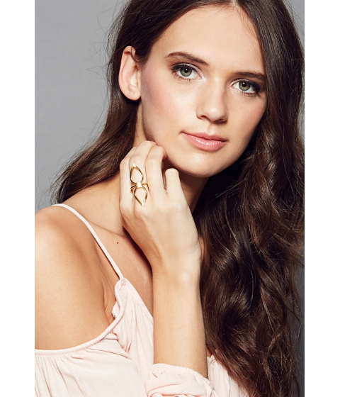 Imbracaminte Femei Forever21 Amarilo Lotus Ring Gold