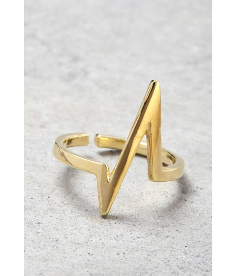 Imbracaminte Femei Forever21 Makko Power Spike Midi Ring Gold