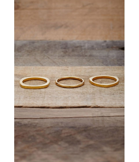 Imbracaminte Femei Forever21 Vitaly Shapes Ring Set Gold