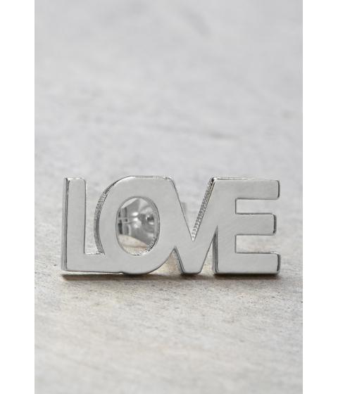 Bijuterii Femei Forever21 Makko Love Stud Earring Silver