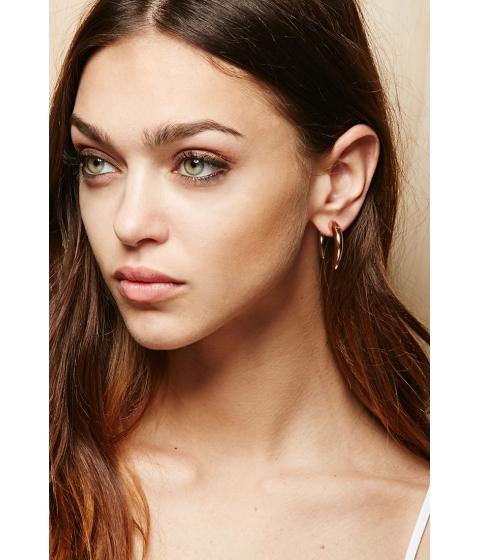 Bijuterii Femei Forever21 Amber Sceats Hook Ear Jackets Light rose