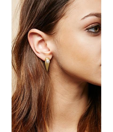Bijuterii Femei Forever21 Amber Sceats Prism Earrings Goldwhite
