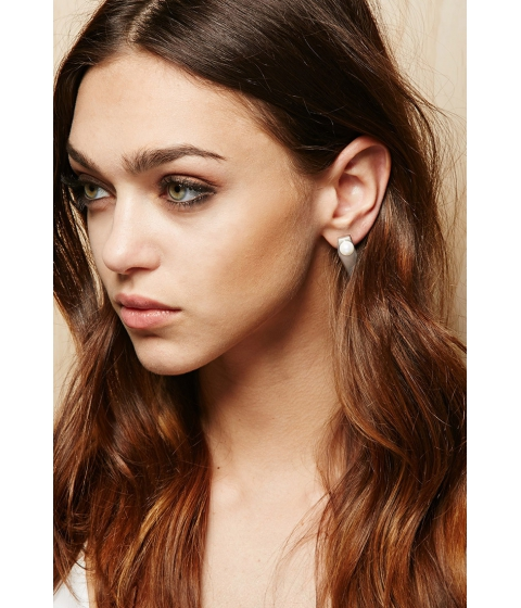 Bijuterii Femei Forever21 Amber Sceats Prism Earrings Silverwhite
