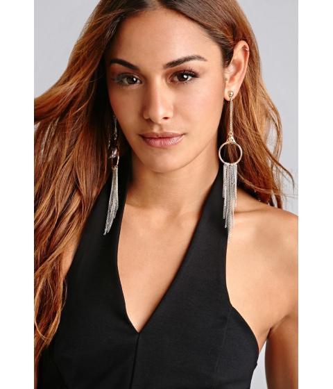 Bijuterii Femei Forever21 8 Other Reasons OMT Earrings Silvergold