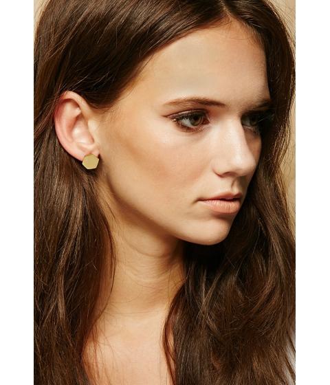 Bijuterii Femei Forever21 Made Pembe Sita Stud Earrings Gold