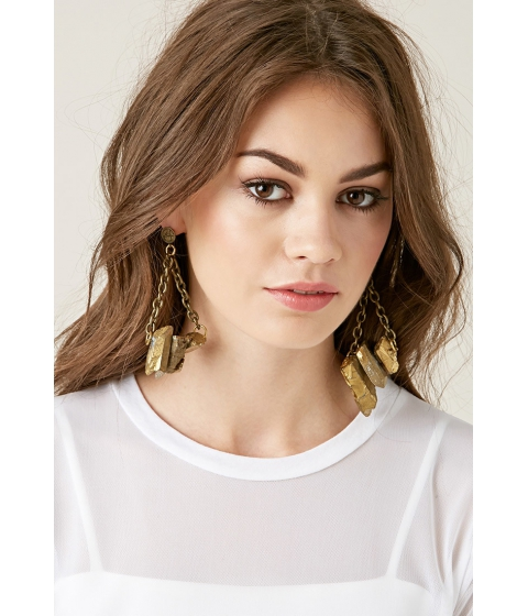 Bijuterii Femei Forever21 Haati Chai Taja Earrings Gold