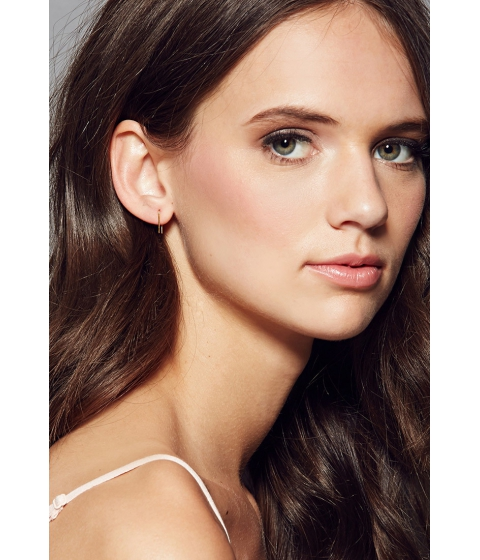 Bijuterii Femei Forever21 Amarilo Staple Post Earrings Silver