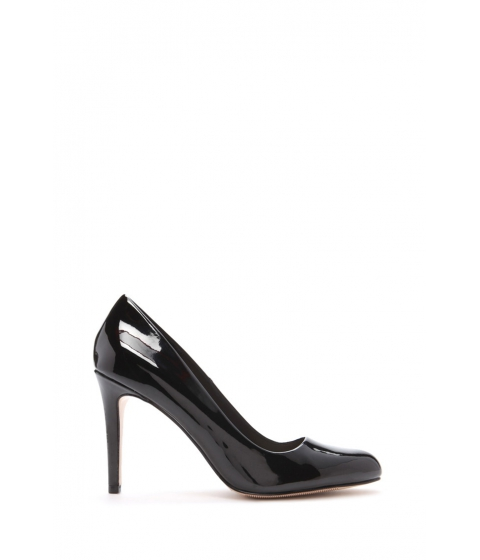 Incaltaminte Femei Forever21 Faux Patent Leather Pumps Black