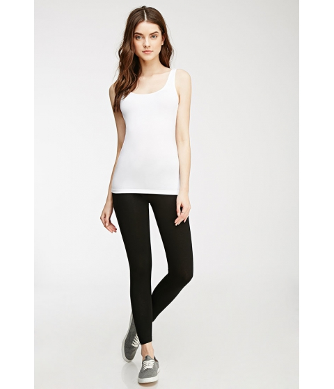Imbracaminte Femei Forever21 Classic Cotton-Blend Leggings Black