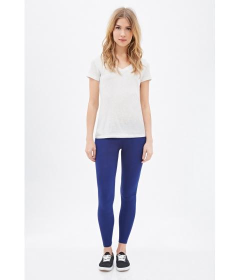 Imbracaminte Femei Forever21 Classic Leggings Dark blue