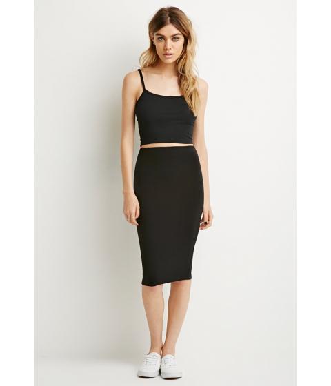 Imbracaminte Femei Forever21 Stretch Knit Pencil Skirt Black