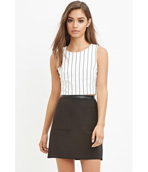 Imbracaminte Femei Forever21 Patch Pocket Mini Skirt Black