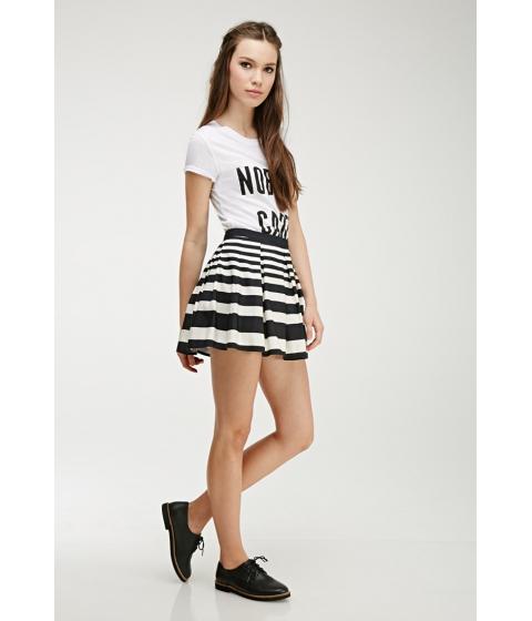 Imbracaminte Femei Forever21 Pleated Mini Skirt Dark navycream