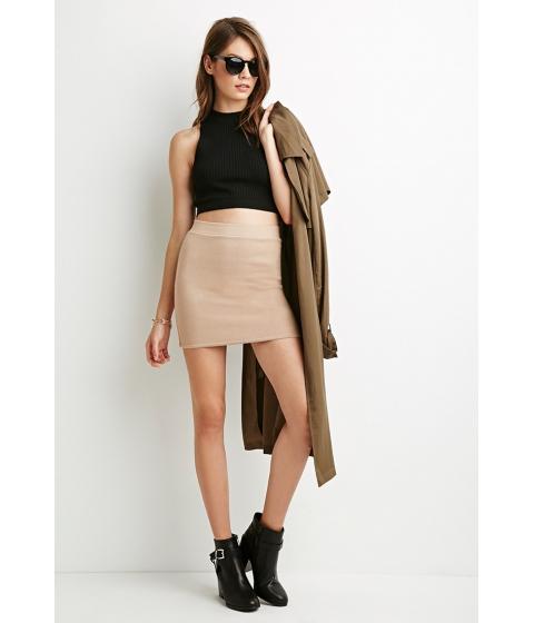 Imbracaminte Femei Forever21 Bodycon Mini Skirt Nude