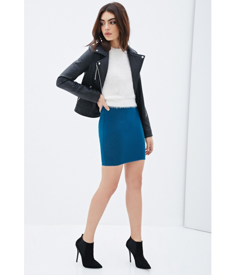 Imbracaminte Femei Forever21 Ribbed Mini Skirt Jade