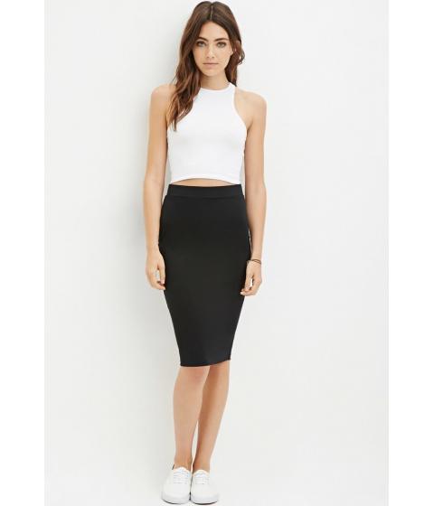 Imbracaminte Femei Forever21 Heathered Pencil Skirt Black