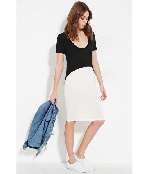 Imbracaminte Femei Forever21 Heathered Pencil Skirt Cream