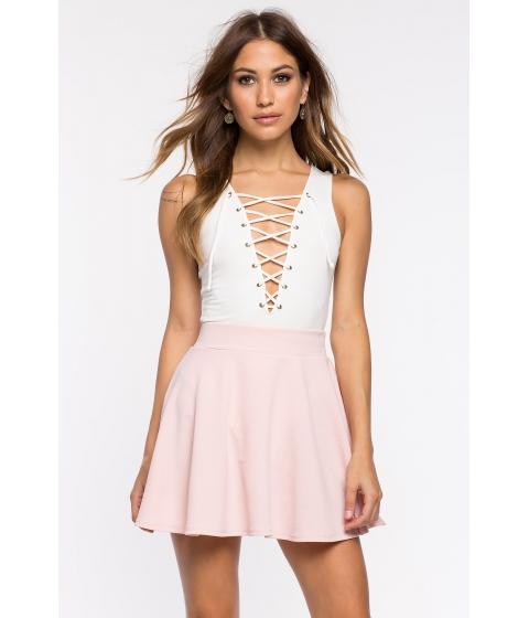 Imbracaminte Femei CheapChic Fearless Flare Skirt Blush