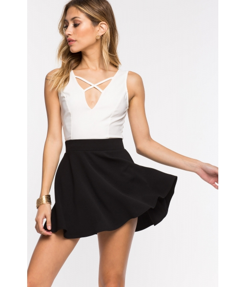 Imbracaminte Femei CheapChic Fearless Flare Skirt Black