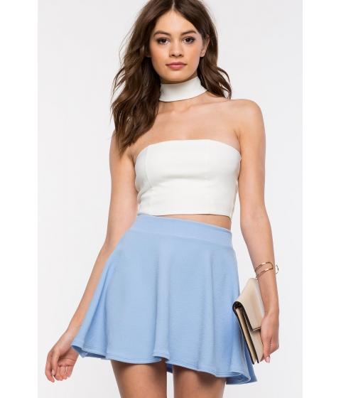 Imbracaminte Femei CheapChic Fearless Flare Skirt Pst Blue