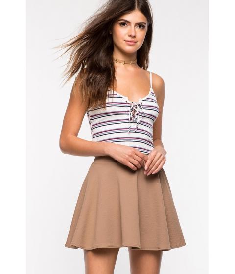 Imbracaminte Femei CheapChic Fearless Flare Skirt Mocha