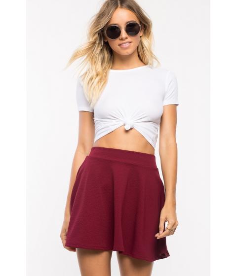 Imbracaminte Femei CheapChic Fearless Flare Skirt WineBurgundy