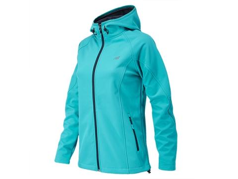 Imbracaminte Femei New Balance Womens Classic Hooded Softshell Jacket Sea Glass