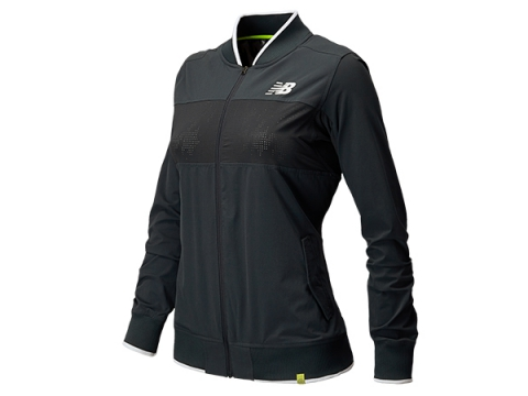 Imbracaminte Femei New Balance Tournament Warm Up Jacket Anthracite