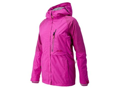 Imbracaminte Femei New Balance Women's Alpine Smarty 3-1 Snow Jacket Poisonberry with Mulberry