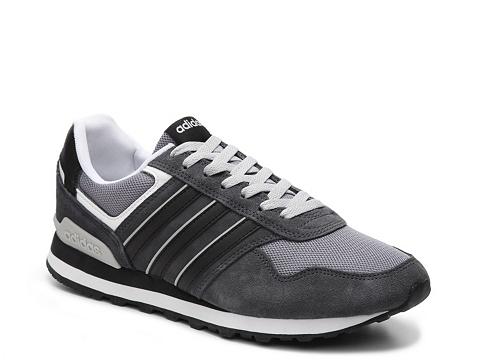 Incaltaminte Barbati adidas 10k Retro Run Sneaker - Mens Charcoal