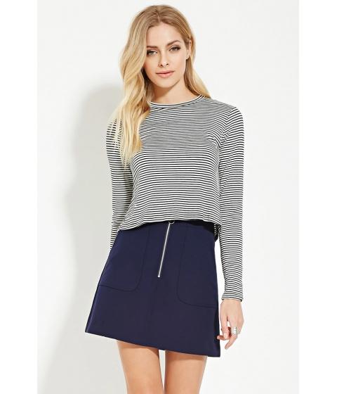 Imbracaminte Femei Forever21 Contemporary Mini Skirt Navy