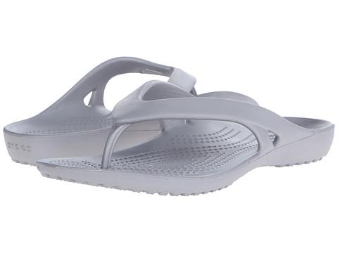 Incaltaminte Femei Crocs Kadee II Flip Silver