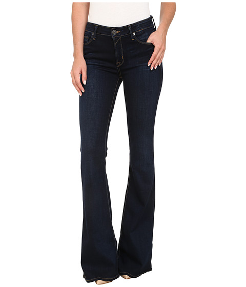 Imbracaminte Femei Hudson Mia Five-Pocket Mid Rise Flare Jeans in Oracle Oracle