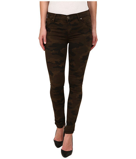 Imbracaminte Femei Hudson Lilly Mid Rise Ankle Skinny w Flap Jeans in Combat Combo Combat Combo